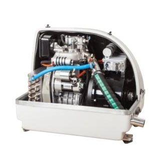 grupo gerador de energia para iate / para barco / a diesel / insonorizado