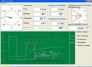 software de metereologia / para barco