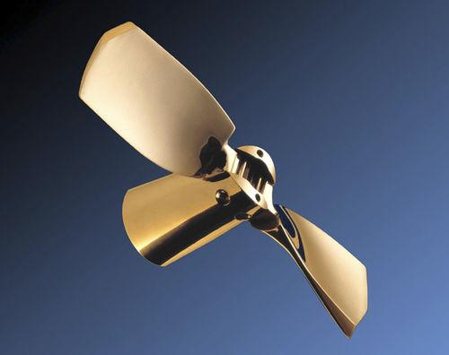 hélice para veleiro / com pás dobráveis / com linha de eixo / saildrive