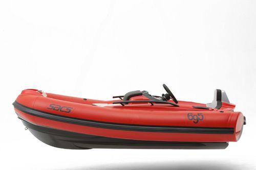 barco inflável hidrojato / semirrígido / com console central