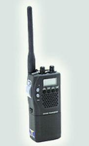 rádio para barco / portátil / VHF / UHF