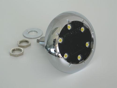 iluminação subaquática para barco / de LED / passa-casco