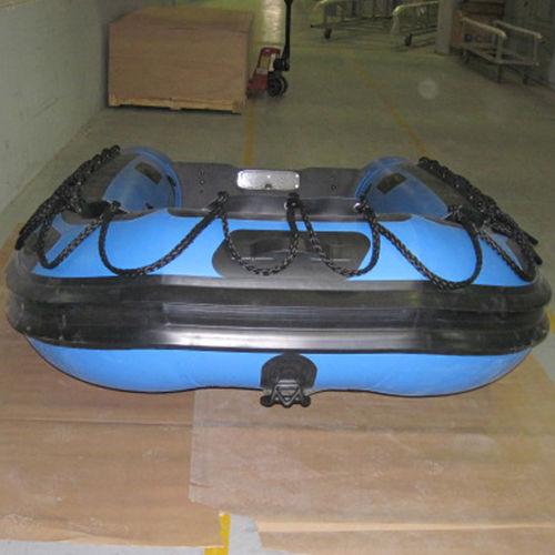 barco utilitário / com motor de popa / barco inflável