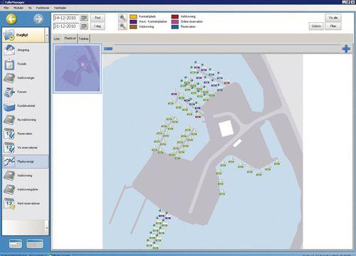 software de gestão / para porto / para marina