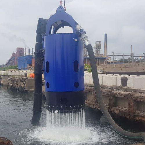 bomba para navio / de dragagem / de água / de rotor