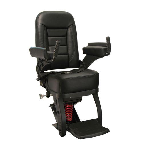 assento de piloto / de operador / para barco / com braços