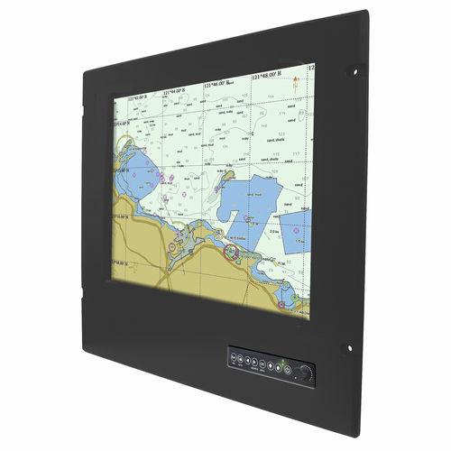 monitor náutico / multifuncional / PC / sistema de navegação