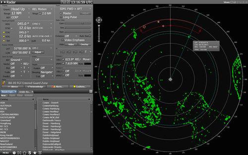 radar para navio / de detecção / com AIS