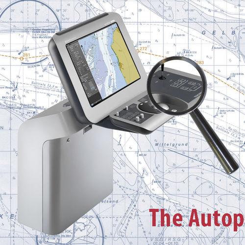 radar para navio / ATA / com função cartográfica / com ECDIS