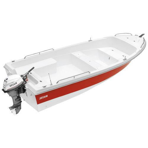 bote com motor de popa / de pesca esportiva / máx. 5 pessoas