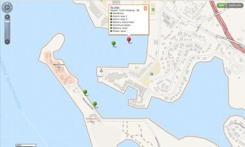 software de gestão de frota / para marina / para empresa de aluguel de barcos
