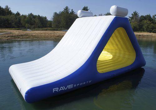 equipamento de diversão aquática escorregador / inflável