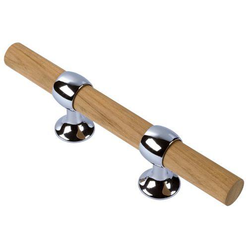 cunho de amarração para píer / plano / em madeira