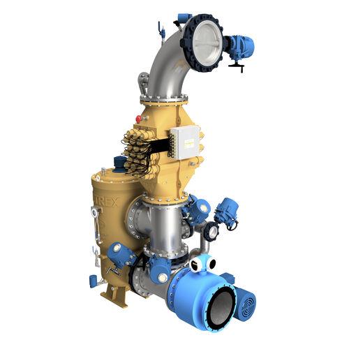 sistema de tratamento de água de lastro / para navio