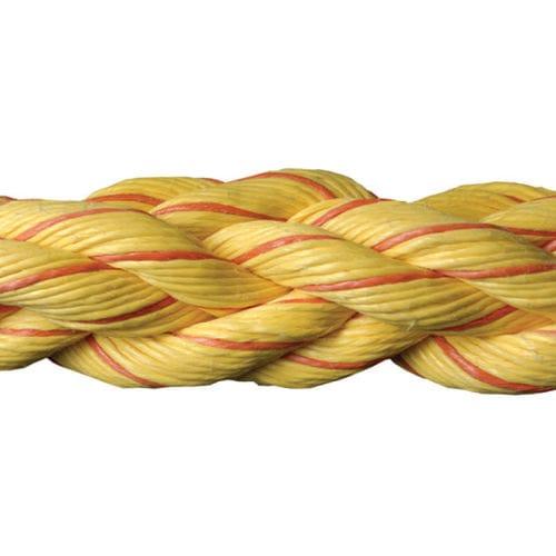 cabo náutico de amarração / flutuante / torcido / para navio