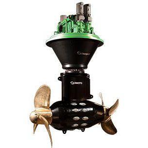 propulsor azimutal / para navio / elétrico / a diesel