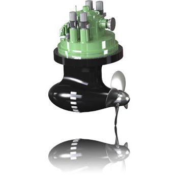 propulsor azimutal / para navio / hidráulico / elétrico