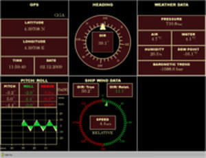 software de navegação / de monitoramento / para navio