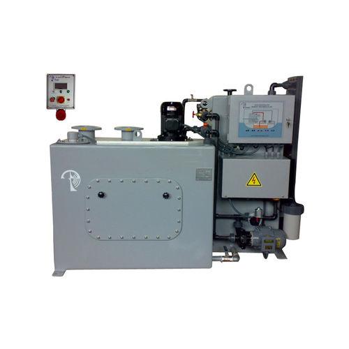 sistema de tratamento de águas residuais / da água de lastro / de água doce / para navio