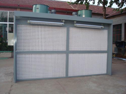 sistema de tratamento de ar / para estaleiro naval / com filtro de carvão ativado