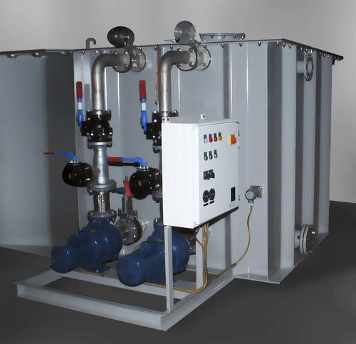 sistema de tratamento de águas residuais / para navio