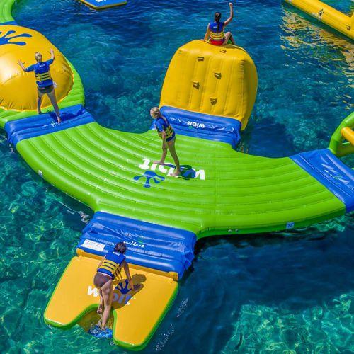 equipamento de diversão aquática plataforma / inflável