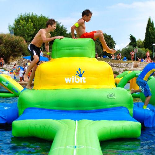 equipamento de diversão aquática pirâmide / inflável / flutuante