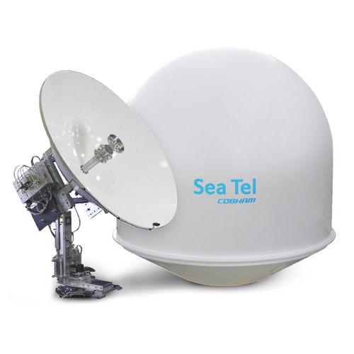 antena de TV / de satélite / banda-C / para barco