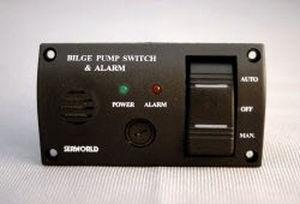painel de comando para barco / de porão / com alarme