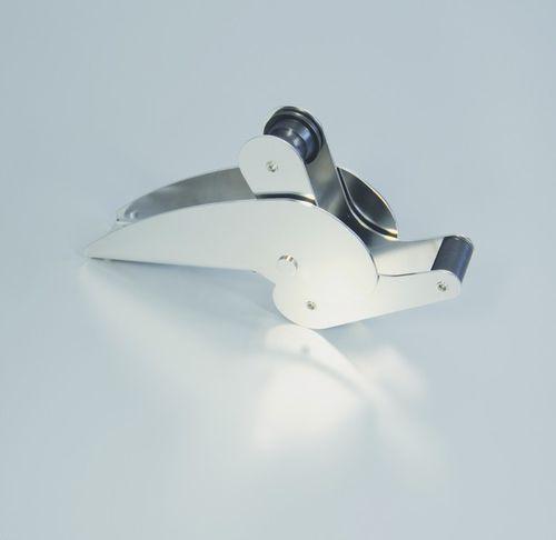 lançador de âncora basculante / em inox
