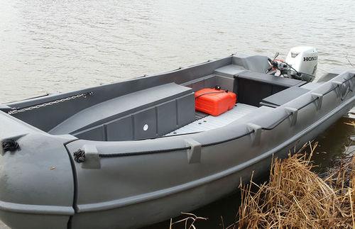 bote com motor de popa / open / de lazer