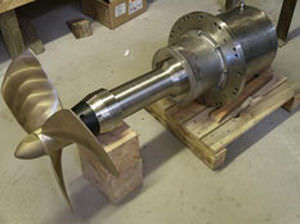propulsor fixo / para AUV / de ROV / CC