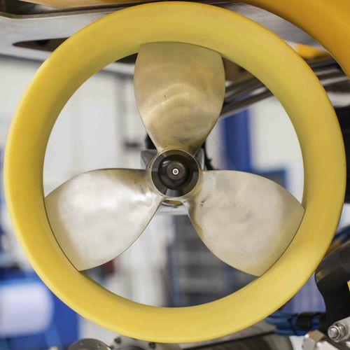 propulsor azimutal / para AUV / de ROV / hidráulico