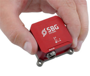 sensor de movimento / de campo magnético terrestre / de oscilação / de inclinação