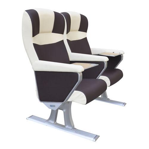 assento para navio de passageiros / com braços / ajustável / de 1 lugar