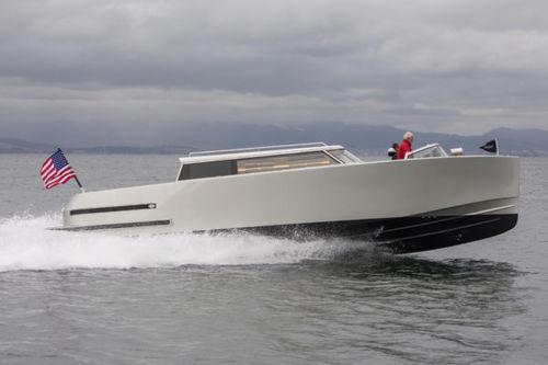 lancha Express Cruiser de rabeta / de cruzeiro / bote auxiliar para iate