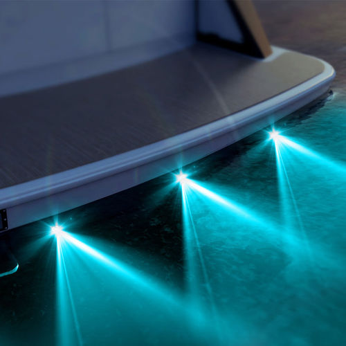 iluminação subaquática para iate / para píer / de LED / passa-casco