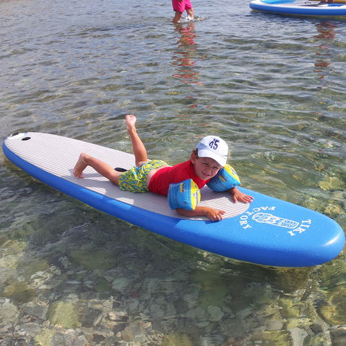 prancha de stand-up paddle de Wave / inflável / em PVC