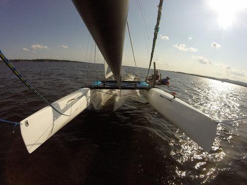 catamarã esportivo com foil / de lazer / para dois tripulantes