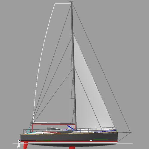 monocasco / de cruzeiro rápido / de regata oceânica / de popa aberta