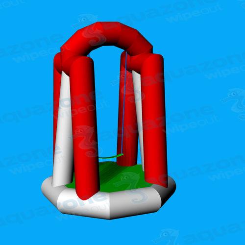 equipamento de diversão aquática baloiço / inflável / flutuante