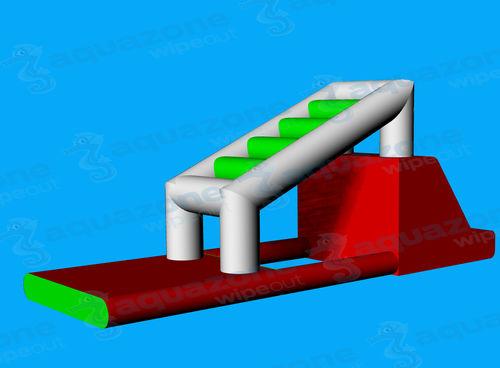 equipamento de diversão aquática colchão / parede de escalada / de convés / inflável