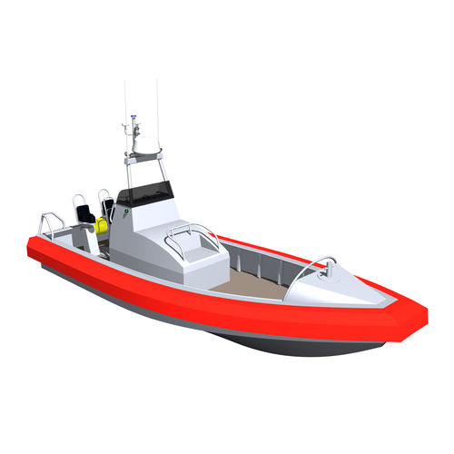 barco de busca e salvamento / com motor de centro hidrojato