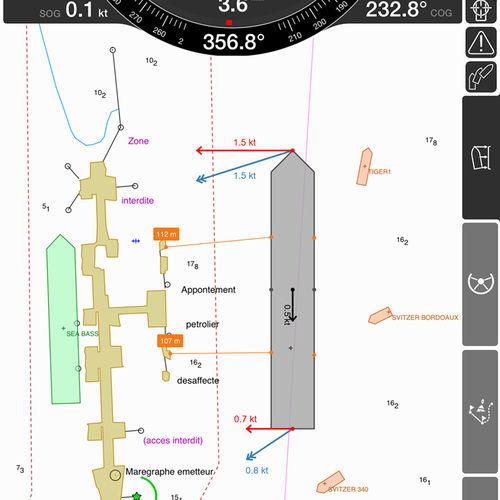 software de navegação, posicionamento e aquisição de dados / de monitoramento / AIS / para navio