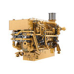 motor para barco profissional / de centro / a diesel / a turbo