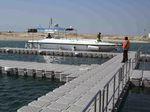 píer flutuante / modular / de atracação / para marina