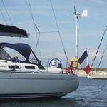 mastro para instalação de turbina eólica / em alumínio