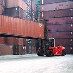 empilhadeira para porto