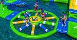 brinquedo aquático barreira / inflável