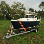 carreta rodoviária / para barco